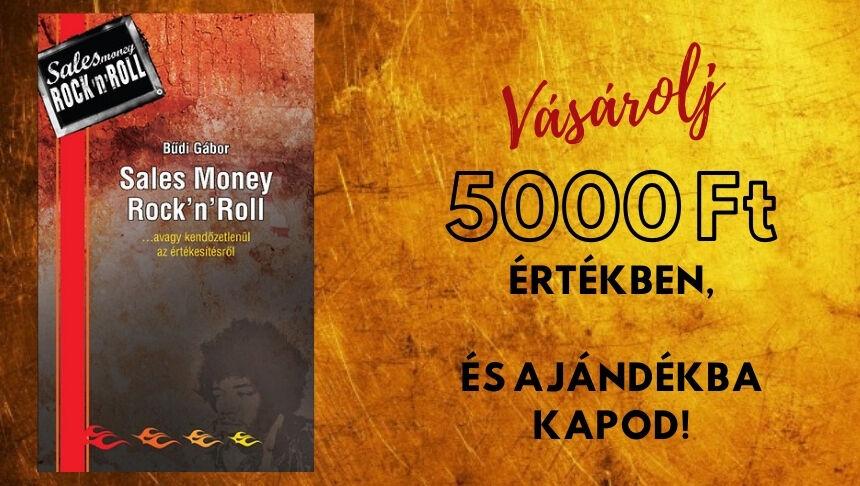 Sales Money Rock'n'Roll ajándékba 5000Ft felett